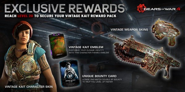 ufifa16coins - Gears of War 4 beta rewards have been revealed