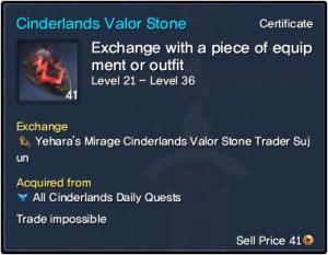 BNS Cinderlands Valor Stone