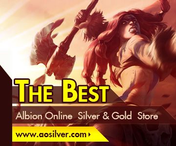 AOSilver.com Sells Cheap and Instant Albion Online Silver & Gold