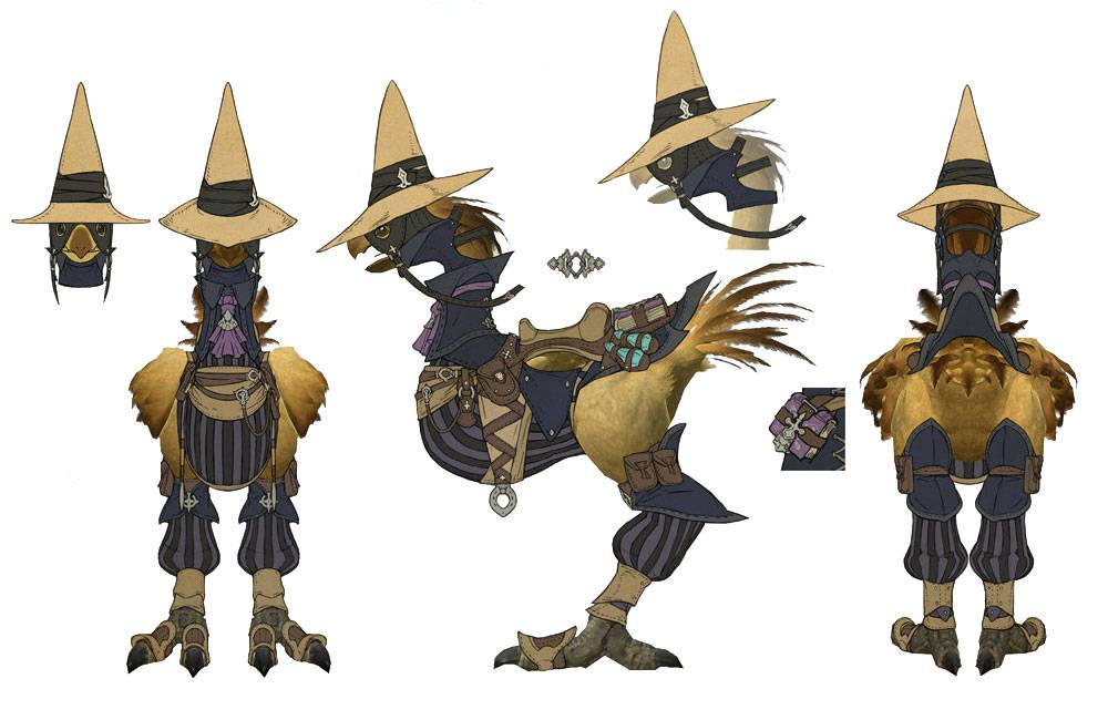 Final Fantasy XIV Online: You can have both a summon and a chocobo