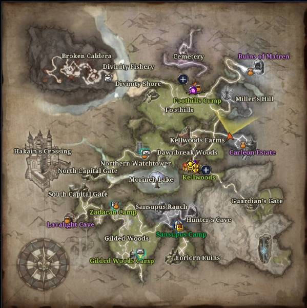 Riders of icarus how open world is the game roistore the maps gumiabroncs Gallery
