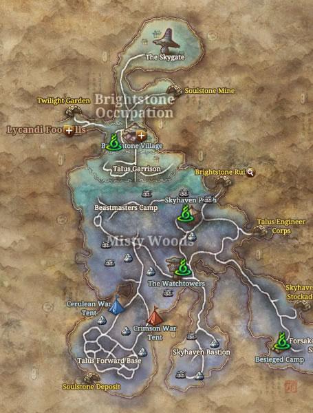 B&S world PVP MAP