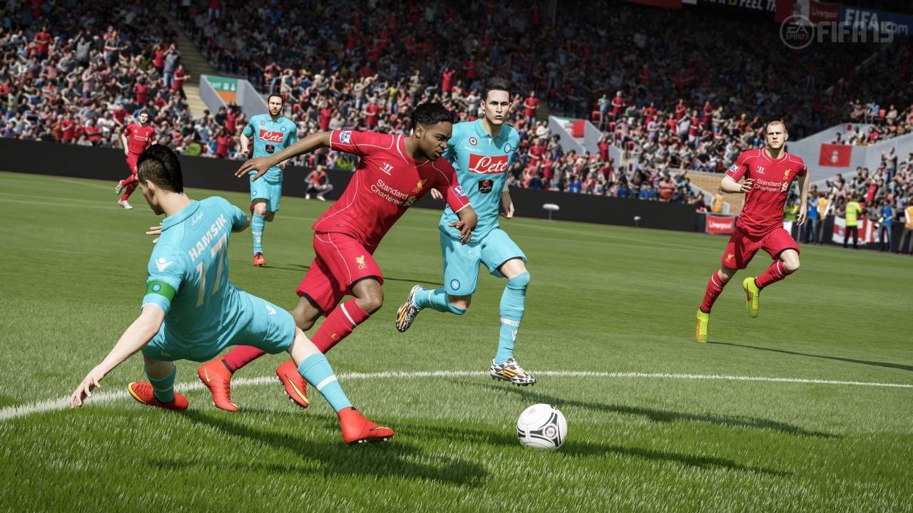 The biggest change in fifa 15 comes in the form of goalkeepers
