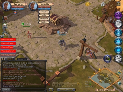 Albion Online Group Overview