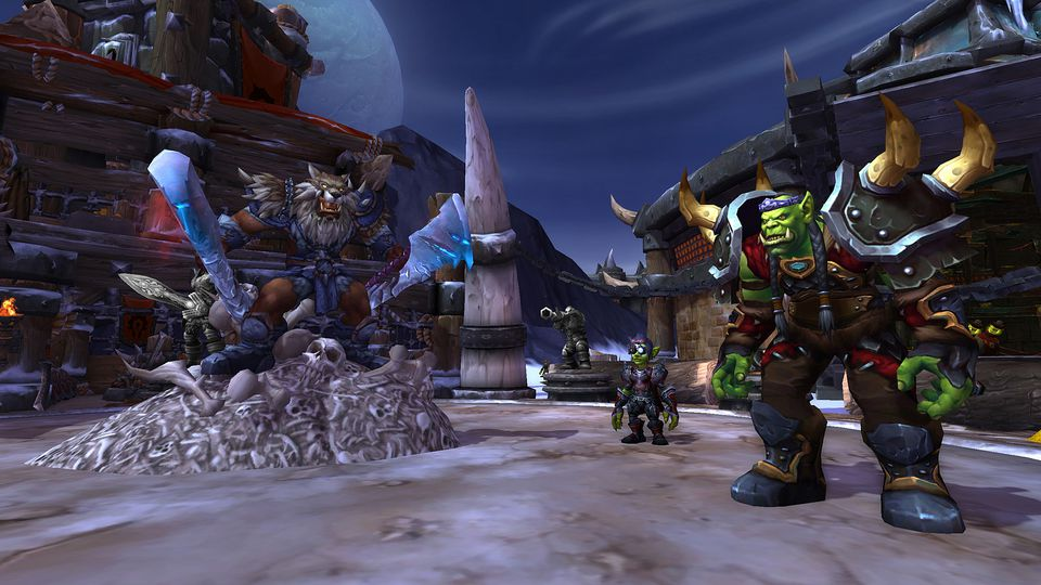 The new World Of Warcraft expansion goes back in time but makes tons of progress