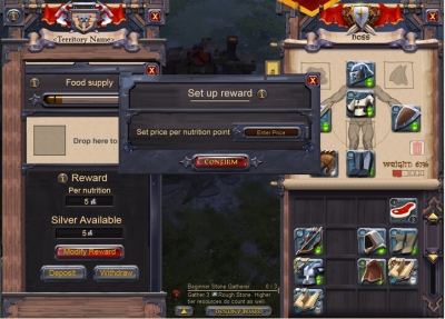 Albion Online New Food And Upkeep System