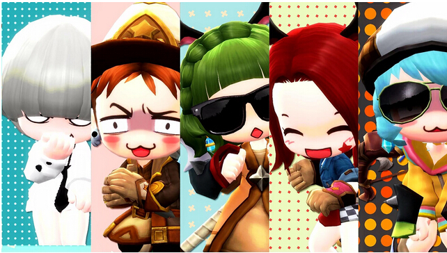 Maple Story 2 Super Cute Costume Video Released from 2nd CBT