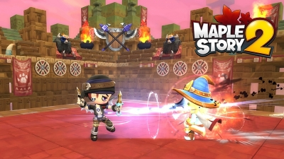nexon maplestory 2 previews 3 different pvp modes for closed beta