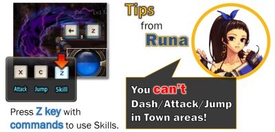 Dungeon Fighter Online CONTROLS
