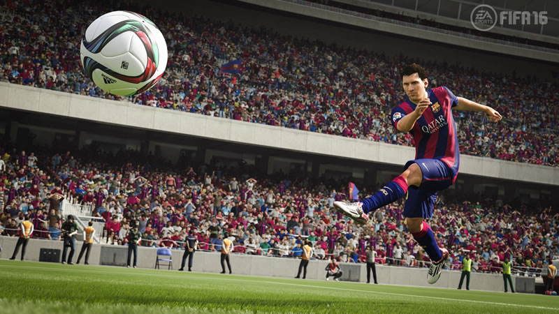FIFA 16 First Gameplay Details