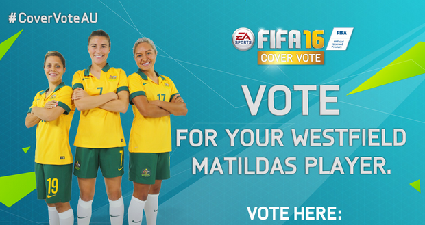 The Matildas Are Headed To The Cover of FIFA 16