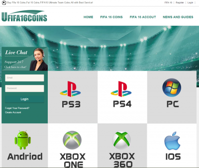 BEST PLACE TO BUY FIFA 16 COINS AND FIFA16 ACCOUNTS