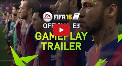 FIFA 16 Official E3 Gameplay Discuss