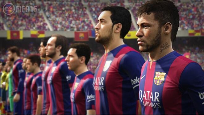 FIFA 16 Official E3 Gameplay Trailer