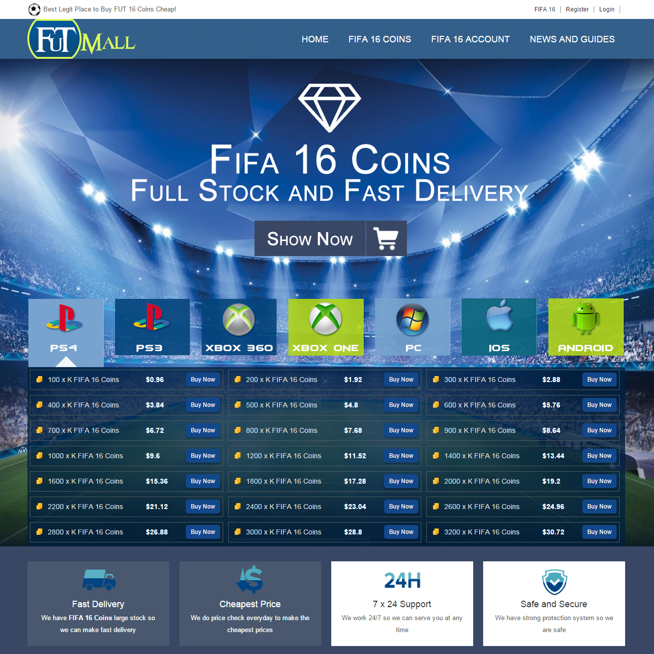 About FUTMALL FIFA 16 Gamer Store Video - FUTMALL.com