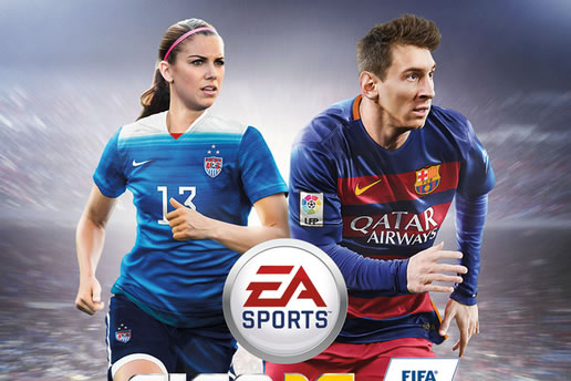 Alex Morgan Joins Lionel Messi on USA Cover of FIFA 16