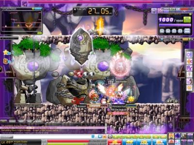 MapleStory Elite Boss Level Limit