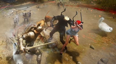 I'm really looking forward to doing everything in Black Desert Online