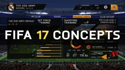 Suggestions about FIFA 17