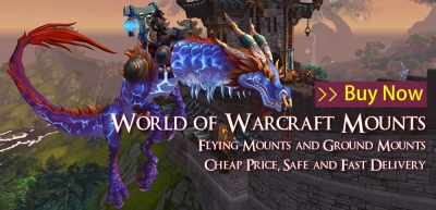 World of Warcraft Top 15 Flying Mounts Show