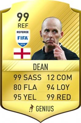EA Sports release new Mike Dean FIFA 17 FUT card