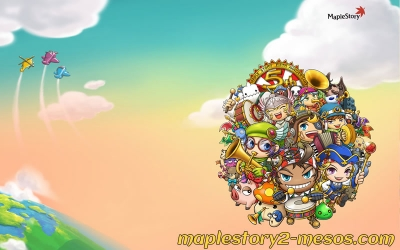 The way you travel around in MapleStory