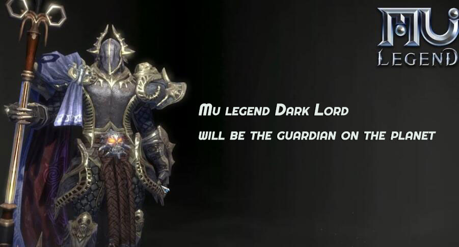 Mu legend Dark Lord will be the guardian on the planet