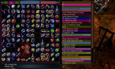 list of Path of exile Vital Vendor recipes that players frequently use