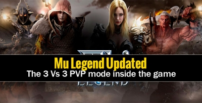 mu legend updated the 3 vs 3 pvp mode inside the game