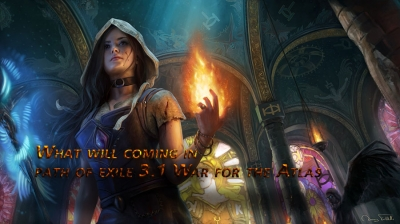 What will coming in path of exile 3.1 War for the Atlas