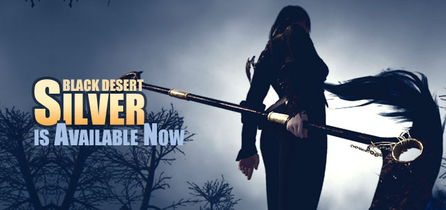Black Desert  Silver is Available Now