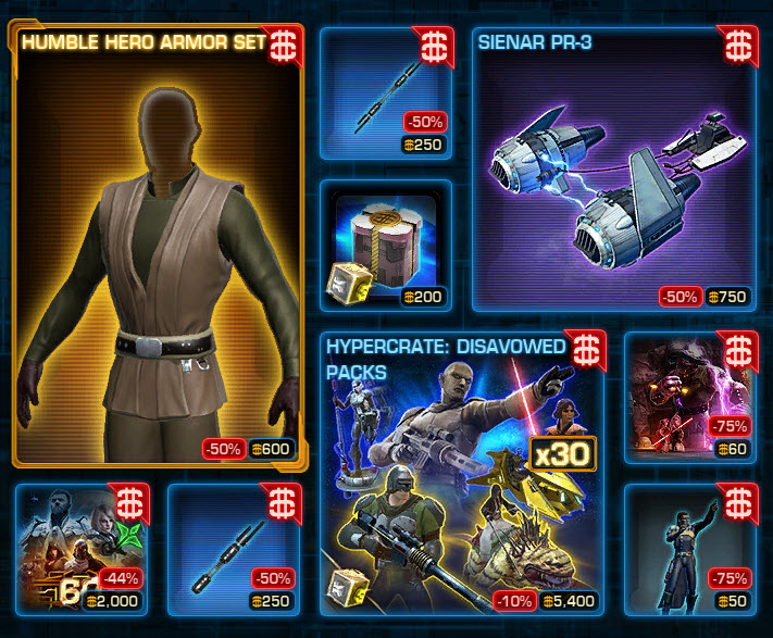 SWTOR CM Weekly Sales March 22 – 29 - wildstar-gold.com