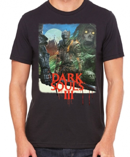 Dark Souls 3's wonderfully gaudy VHS cover art is also a t-shirt  on ufifa16coins