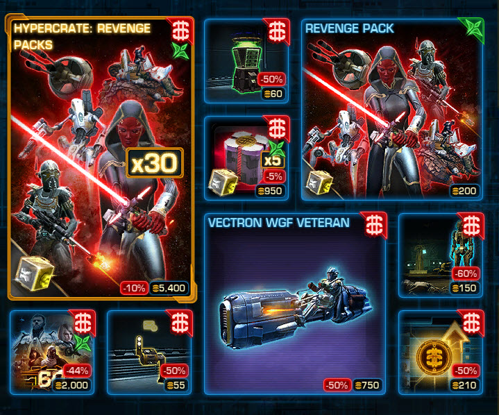 ucabal2 | SWTOR CM Weekly Sales June 7 – 14