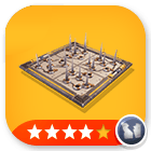 Traps/ 20X Retractable Floor Spikes - 4 Stars[Physical]