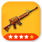 Weapons/ Grave Digger (4 Stars) - MAXED