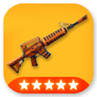 Weapons/ Grave Digger (5 Stars) - MAXED