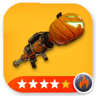 Weapons/ Jack-o-Launcher - 4 Stars[Fire] - MAXED