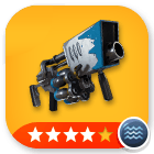 Weapons/ Snowball Launcher - 4 stars[Water]