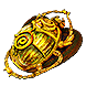 Betrayal/ Gilded Sulphite Scarab