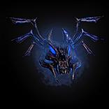 Azure Imp Mask