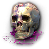 Crystallised Skull