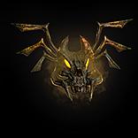 Golden Imp Mask