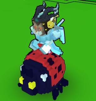 Mount Bouncy Ladybug