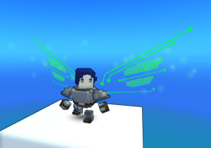 trove Neon Nightsky wings