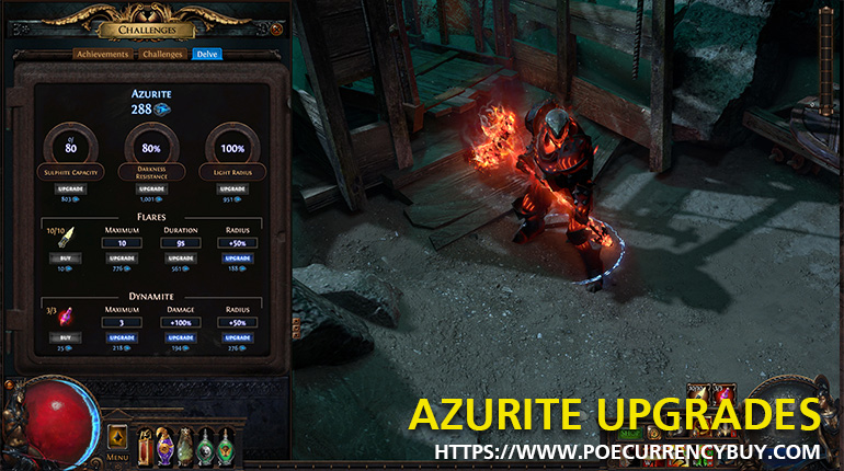 AZURITE UPGRADES
