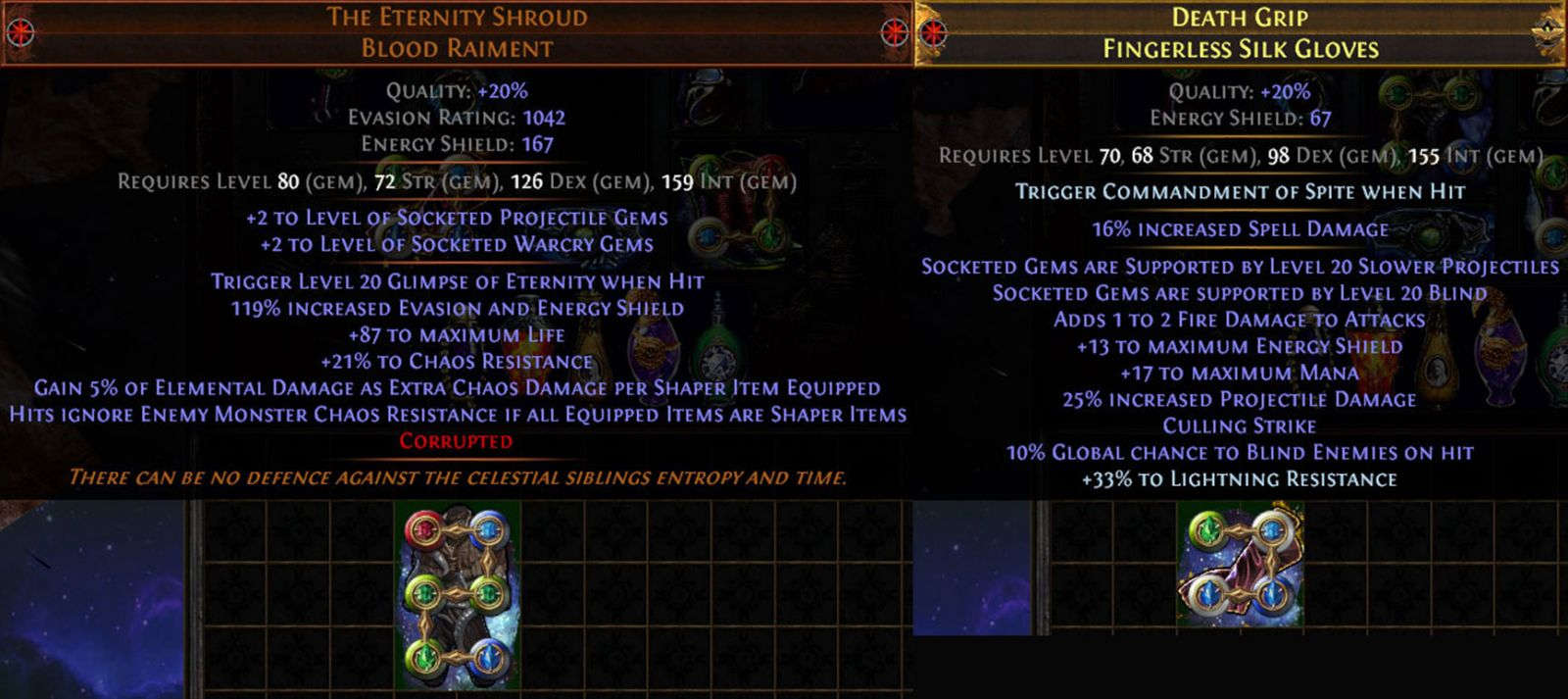 PoE 3.10 Delirium CoC Assassin Armor