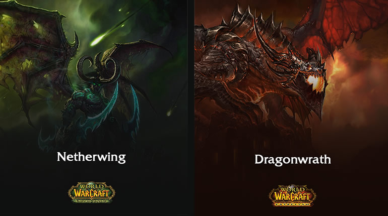 Atlantiss Netherwing and Dragonwrath Gold