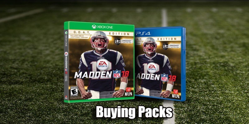 Buying madden Packs