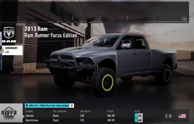 Dodge Ram runner Forza Edition